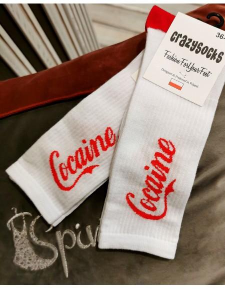 """Kojinės ,,Cocaine"""""""